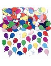 Multi-Coloured Metallic Balloon Confetti 14g