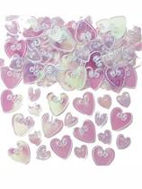 Iridescent Love Hearts Confetti 14g
