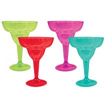 Assorted Margarita Cocktail Glasses 20pk