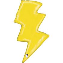 "Lightening Bolt 36"" Foil Balloon"