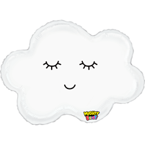 "Mighty Bright Sleepy Cloud 30"" Foil Balloon"
