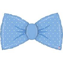 """Blue Bowtie  43"""" Large Shape Foil Balloon"""