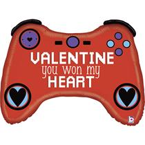 """Valentine Grabo 34"""" Gamer Foil Balloon"""