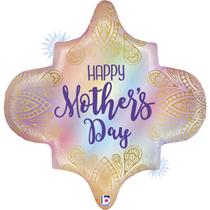 "Happy Mother's Day Boho Rainbow 30"" Foil Balloon"