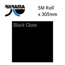 Ritrama Black Gloss Vinyl 305mm x 5M