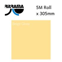Ritrama Beige Gloss Vinyl 305mm x 5M