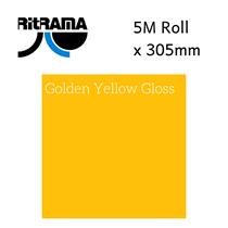 Ritrama Golden Yellow Gloss Vinyl 305mm x 5M