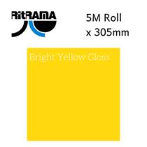 Ritrama Bright Yellow Gloss Vinyl 305mm x 5M