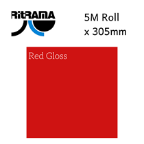 Ritrama Red Gloss Vinyl 305mm x 5M