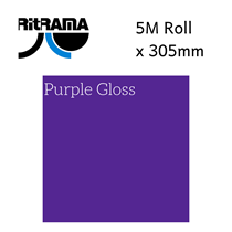Ritrama Purple Gloss Vinyl 305mm x 5M