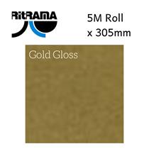 Ritrama Gold Gloss Vinyl 305mm x 5M