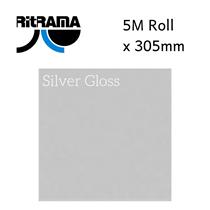 Ritrama Silver Gloss Vinyl 305mm x 5M