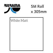 Ritrama White Matt Vinyl 305mm x 5M