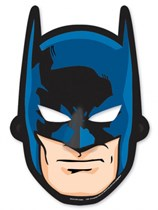 Batman Party Masks 8pk