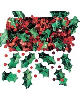 Christmas Holly and Berries Confetti 14g