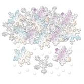 Iridescent Snowflake Confetti 14g