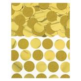 Gold Foil Circle 20mm Confetti 63grams