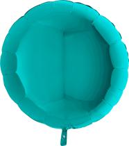 "Tiffany 36"" Round Foil Balloon"