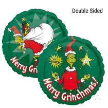 "Christmas Grinch 18"" Foil Balloon"