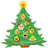 "Christmas Tree Emoticon 34"" SuperShape Foil Balloon"