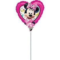 Minnie Mouse Mini Shape Foil Balloon (air fill)