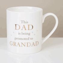 Bambino Bone China Mug - Dad Promated To Grandad