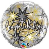 """18"""" Congratulations Foil Balloon"""