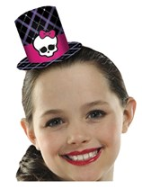 Monster High Party Top Hats - 8pk