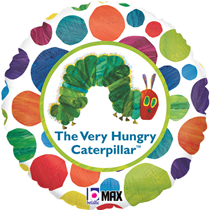 """The Very Hungry Caterpillar 18"""" Round Foil Balloon"""