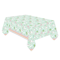 Llama Party Plastic Tablecover 1.8 x 1.2M