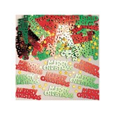 Merry Christmas Red & Green Confetti 14g