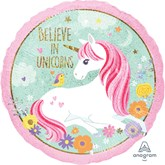 "Magical Unicorn Holographic 18"" Foil Balloon"