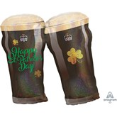 """St. Patrick's Day Guinness Holographic 28"""" SuperShape"""