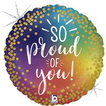 "So Proud Of You Rainbow 18"" Foil Balloon"
