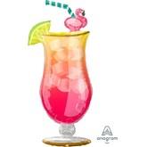 Tropical Drink SuperShape Foil Balloon