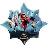 "Disney Incredibles 2 Foil 35"" Supershape Balloon"