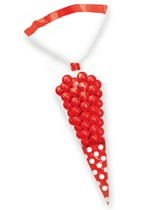 Red Cone Favour Bags 10pk