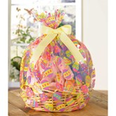 Easter Egg Printed Basket Bags 2pk