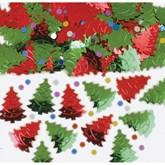 Christmas Tree Embossed Confetti 14g