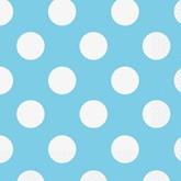 Light Powder Blue Dots Luncheon Napkins 16pk