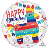"Pinata Party 18"" Foil Balloon"