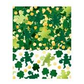 St. Patrick's Day Shamrock Foil Confetti 70 grams