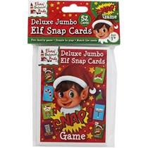 Deluxe Jumbo Elf Snap Card Game