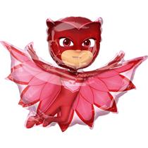 "PJ Masks Owlette 33"" Foil SuperShape Balloon"