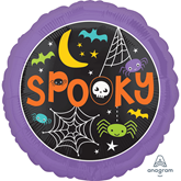 "Halloween Spooky 18"" Foil Balloon"