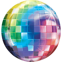 Disco Ball Orbz Foil Balloon