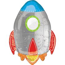 "Blast Off Space Rocket Ship 29"" Foil Balloon"