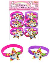 Unicorn Silicone Bracelets 12pk