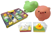 Mini Squishy Animal Party Favours 16pk