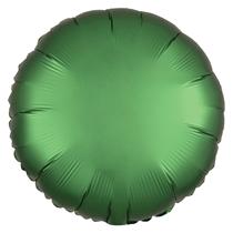 Satin Luxe Emerald Circle Foil Balloon